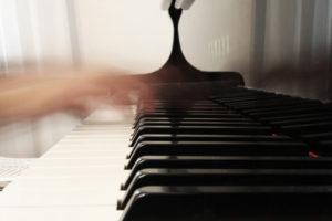 velocidad en el piano