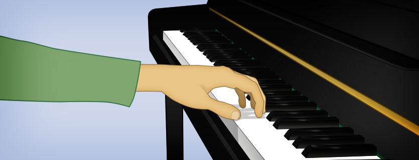 arrondir les doigts