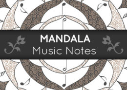 Mandala Music Notes