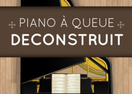 Piano à queue déconstruit