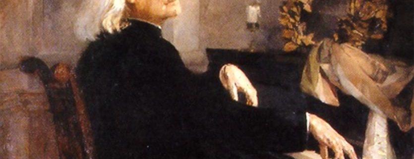 posición de las muñecas en Liszt