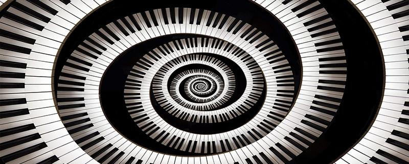lesion en el piano