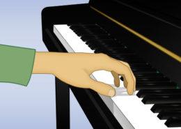 encorvar los dedos