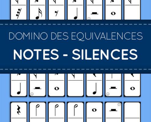 équivalences notes-silences