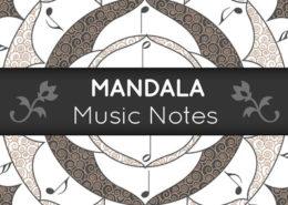 Mandala Music Notes
