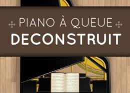 Piano à queue déconstruit