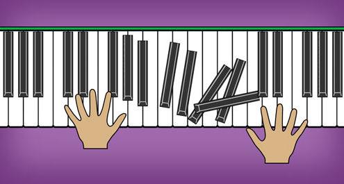 clavier puzzle